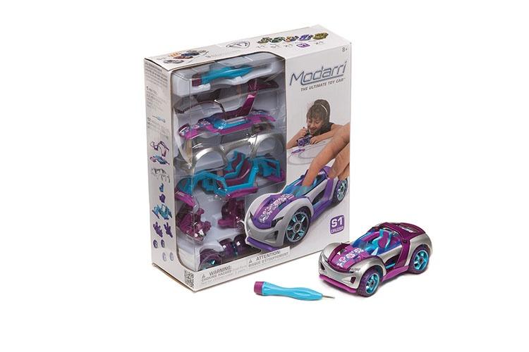 Modarri Modelbouw auto Beach Cruzer paars