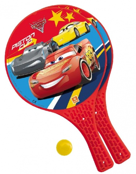 Mondo Cars beachball set rood jongens 3 delig