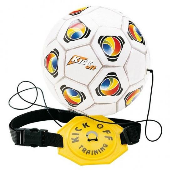 Mondo Kick off trainer voetbal 20 cm wit