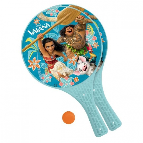 Mondo Vaiana beachball set lichtblauw junior 3 delig
