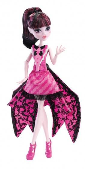 Monster High Draculaura transformatiepop 33 cm