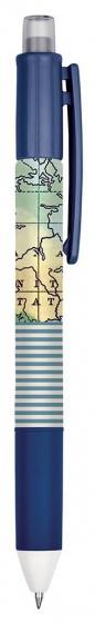 Moses balpen 4 in 1 Atlas 14 cm blauw