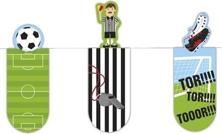 Moses magnetische boekenleggers voetbal 6 cm 3 stuks