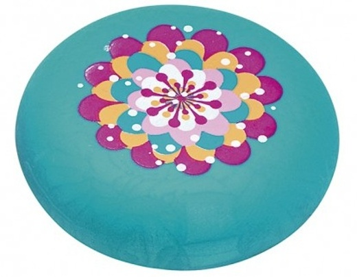 Moses gum Flower and Dots 2 cm groen
