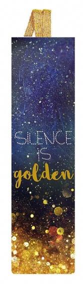 Moses Libri_x boekenlegger met elastiek silence is gold