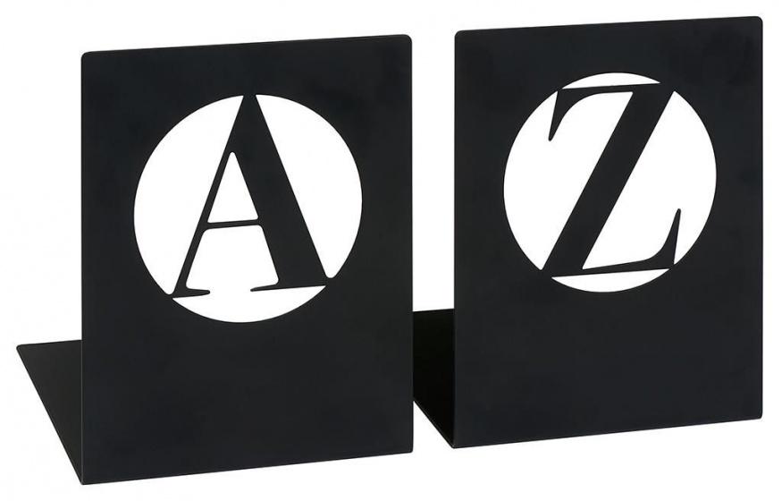 Moses libri_x boekensteun A Z modern zwart