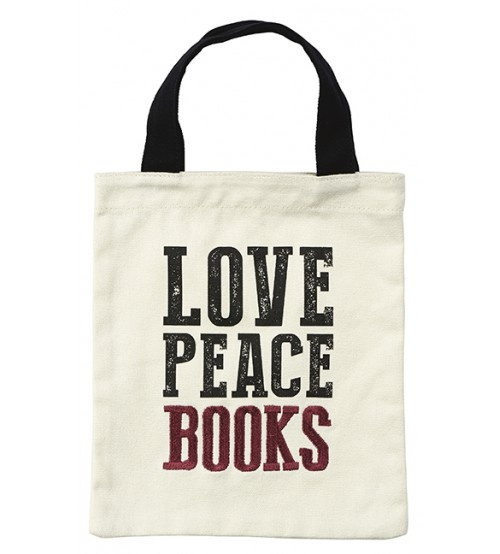 Moses Libri_x Love Peace Books boekentas 20 x 25 cm kopen