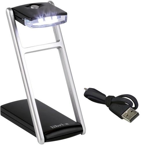 Moses Libri_x reis leeslamp met USB aansluiting 10 cm zwart kopen