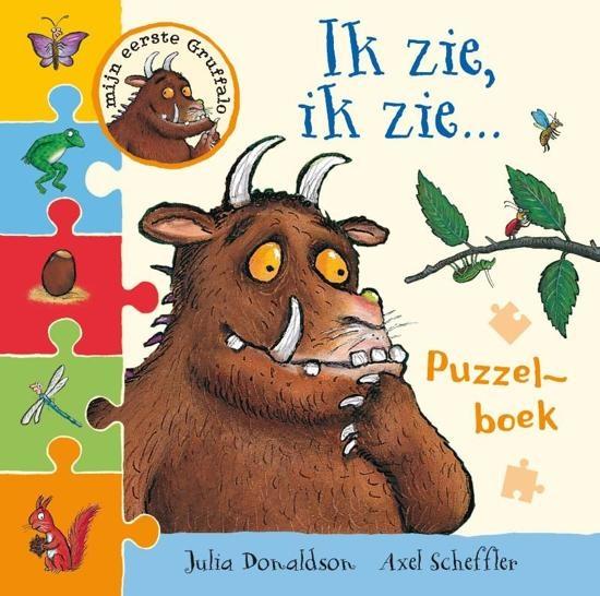 Lemniscaat Puzzle Book Gruffalo I See I See Internet Toys