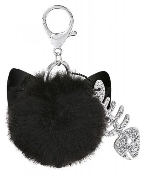 Moses sleutelhanger Ed, the Cat zwart 10 cm