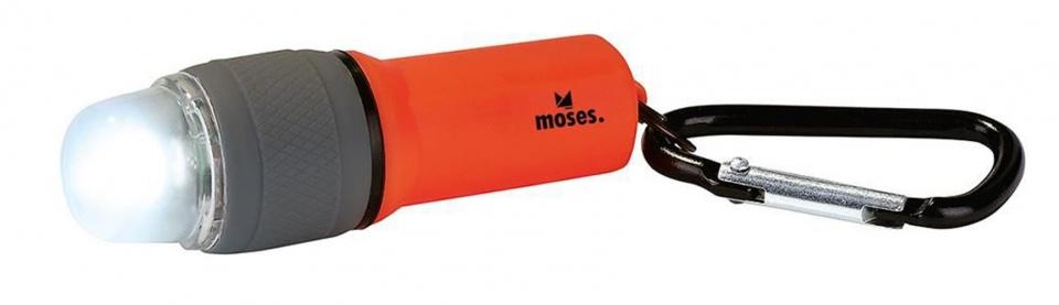Moses waterdichte LED zaklamp met SOS functie rood kopen