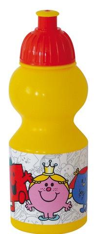 Mr. Men & Little Miss Drinkbeker 350 ml geel/rood