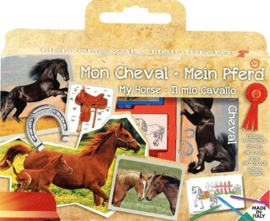 Multiprint kleurset Horses 12 delig