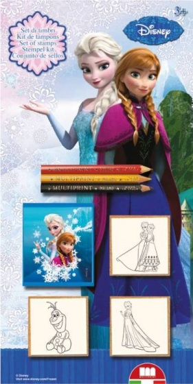 Disney Frozen 3 stempels