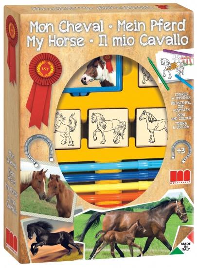 Multiprint Paarden Stempelset 4 delig