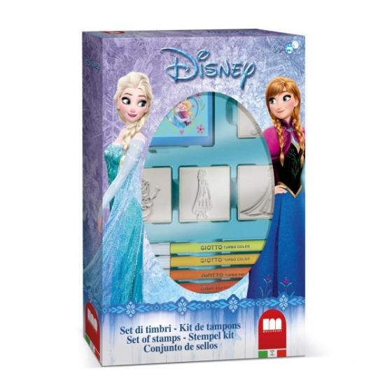 Disney Frozen 4 stempels met stiften