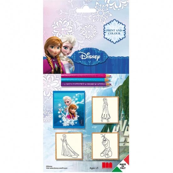 Multiprint Stempelset Frozen: 7 Delig