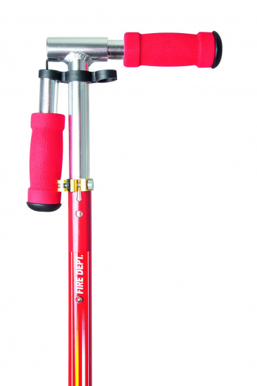 step Fire Patrol boys 83 cm aluminum red/yellow