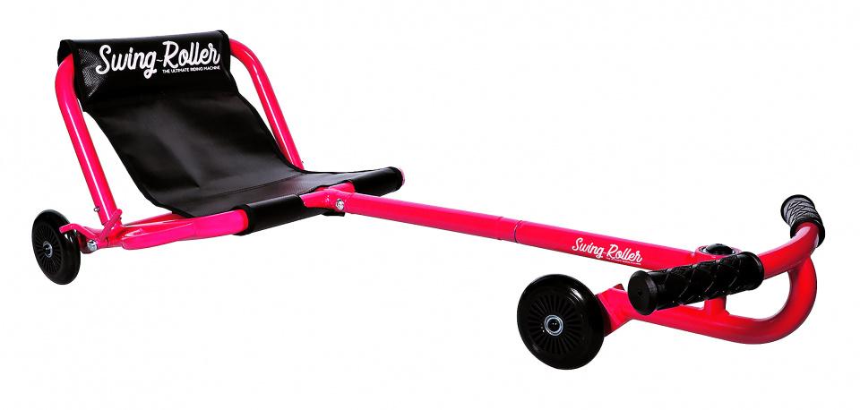 Muuwmi swingroller junior rood 74 x 41 x 28 cm