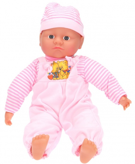My Baby & Me Pop Shelly Pratend roze 40 cm