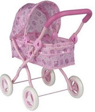 My Baby & Me Poppenwagen 50 x 56 x 33,5 cm roze