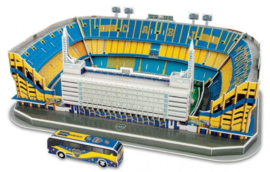 Nanostad 3D puzzel La Bombonera stadion 74 stukjes
