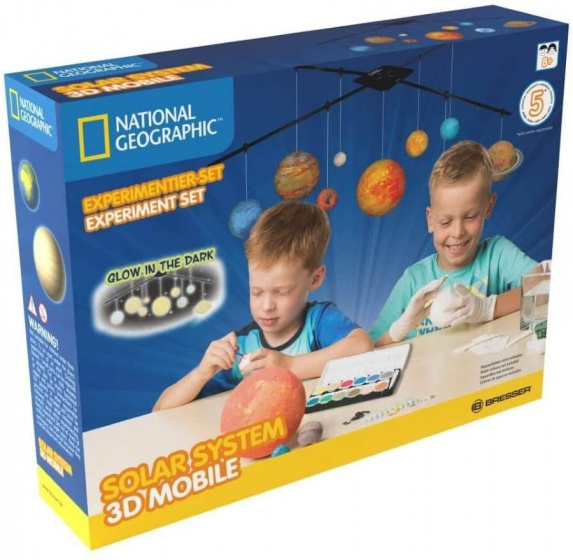 mobile solar system junior glow-in-the-dark 14-piece