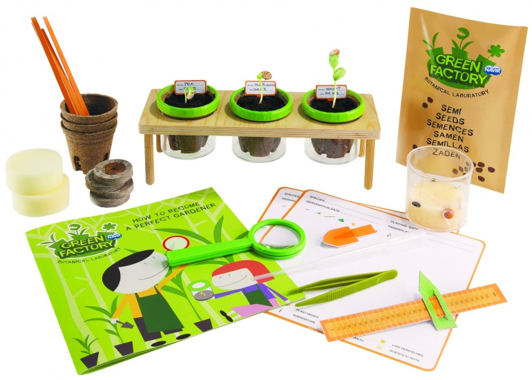 Navir green factory how to grow plants internet toys for Indoor gardening kit green toys