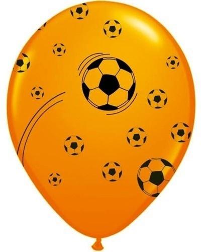 Amigo Ballonnen Holland Oranje Voetbal 23cm 25 Stuks
