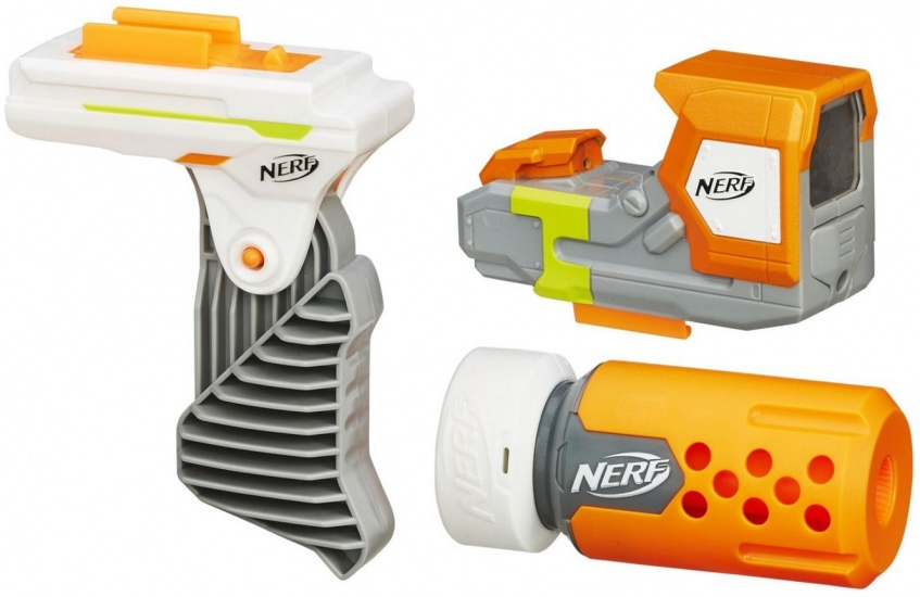 Nerf Modulus Secret Agent Kit 3 delig oranje/wit