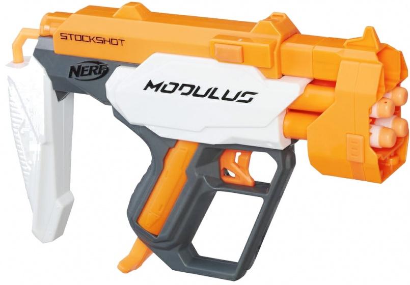 Nerf Modulus Stockshot geweer oranje/wit