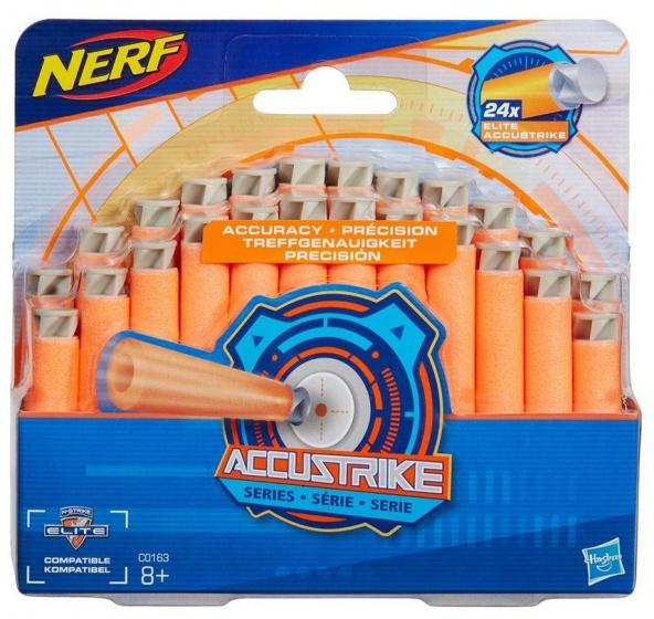 Nerf N strike Elite Accustrike darts 24 delig