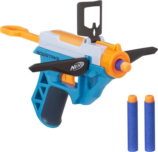 Nerf N Strike Elite Bowstrike blauw/wit 4 delig