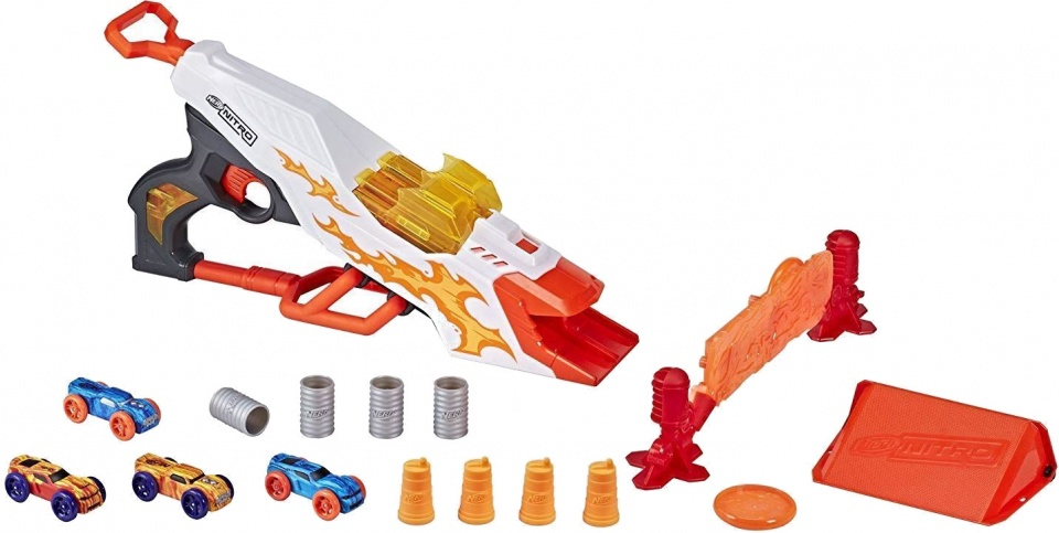 NERF Nitro Doubleclutch Inferno blaster
