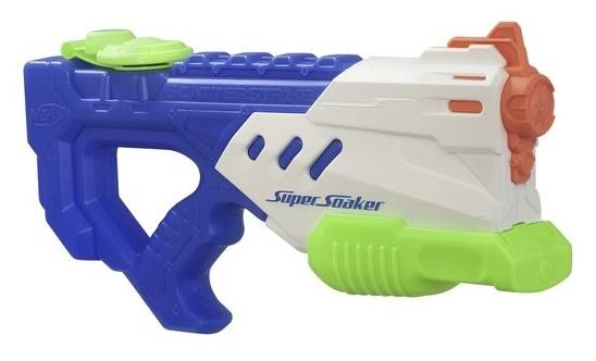 Nerf Super Soaker Scatter waterpistool wit/blauw