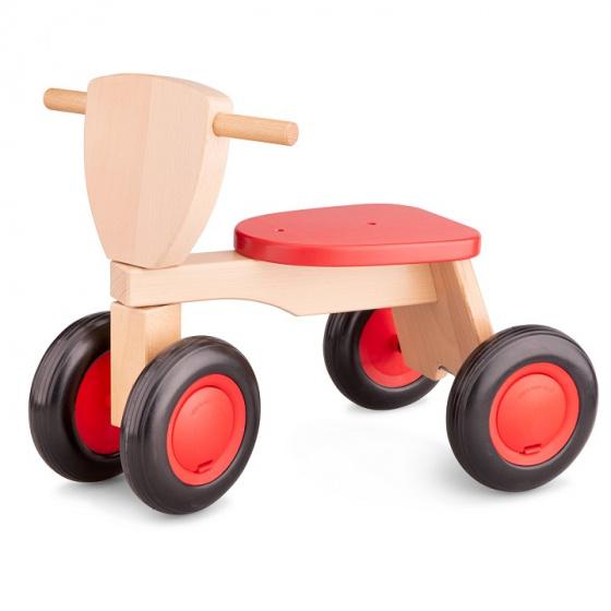 New Classic Toys loopfiets rood