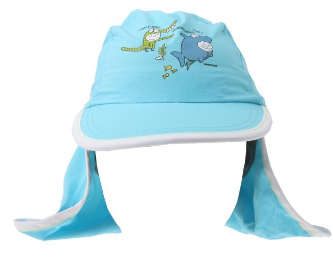 New Port UV Cap Jongens Met Achterflap Blauw Slim Fit