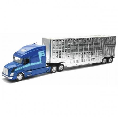 Newray Truck Volvo VN 780 Blauw 1:32