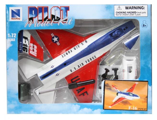 Newray 1:72 Vliegtuig Kit F 16