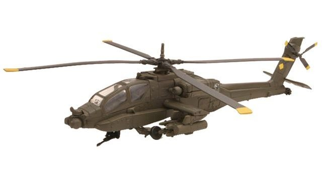Newray Apache AH 64 Bouwkit 1:55