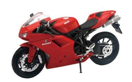 Newray Ducati 1198 Motorkit Rood 1:12