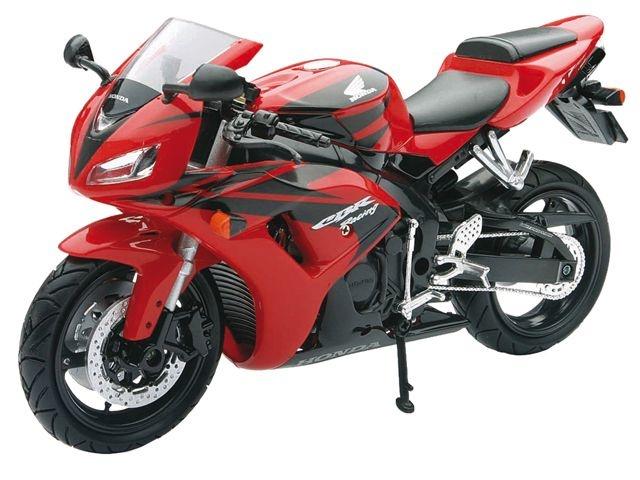 Newray Honda CBR 1000 Motorkit Rood 1:12