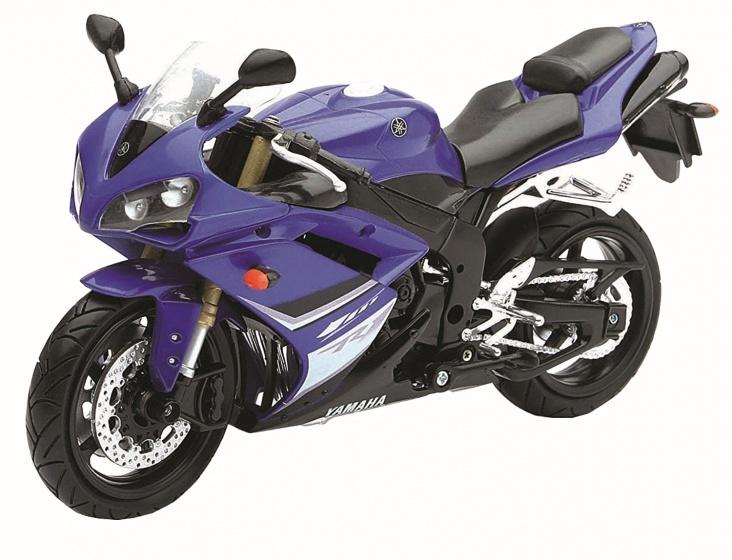Newray Yamaha YZF R1 Motorkit Blauw 1:12