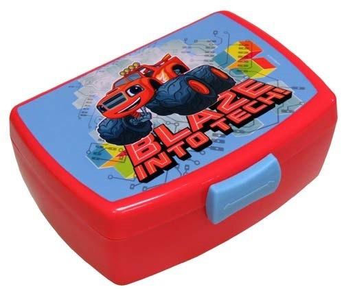 Nickelodeon Blaze broodtrommel jongens rood 16 x 12 x 7 cm