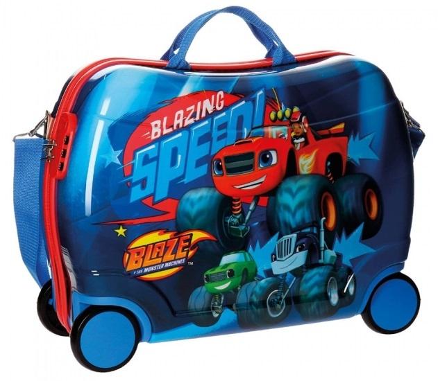 Nickelodeon Blaze koffer 38 x 50 x 20 cm blauw
