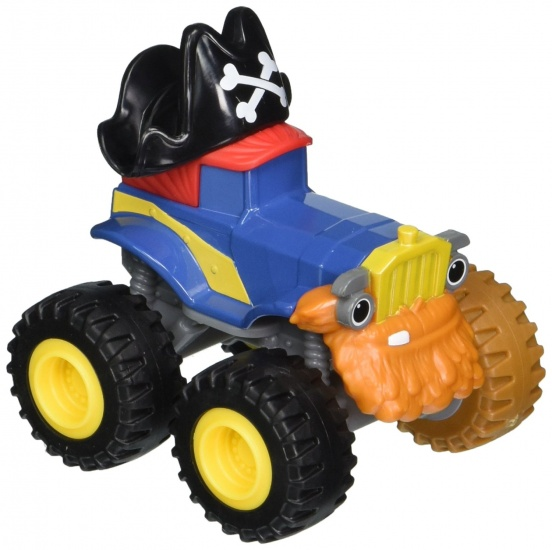 Nickelodeon Blaze Monster Truck Pegwheel Pete Blauw