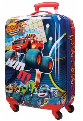 Nickelodeon Blaze Spinner trolley 55 x 36 x 20 cm blauw