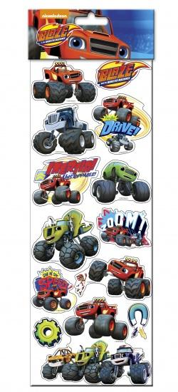 Nickelodeon Blaze Stickervel 47 x 15 cm
