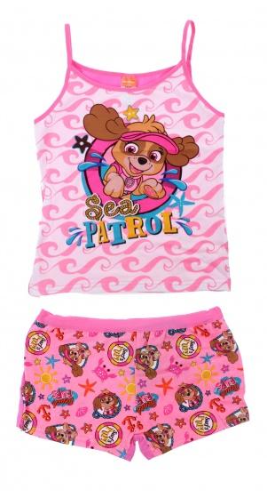 Nickelodeon boxer en hemd Paw Patrol roze meisjes mt 104 110