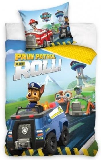 Nickelodeon Dekbedovertrek Paw patrol 140 x 200 cm blauw